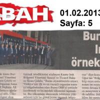 Bursa OSB Irak için Örnek Olacak