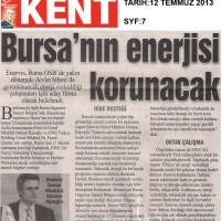 Bursa'nın enerjisi korunacak