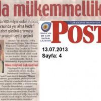 Bursa'da mükemmellik projesi