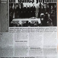 Bursa'dan Türkiye'ye bir güneş yayalım