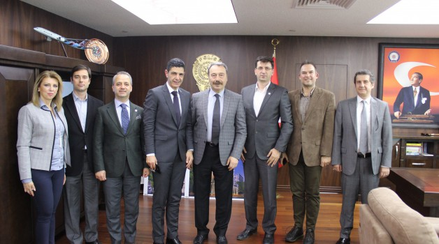 BOSİAD'tan Emniyet Müdürü Osman Ak'a Ziyaret